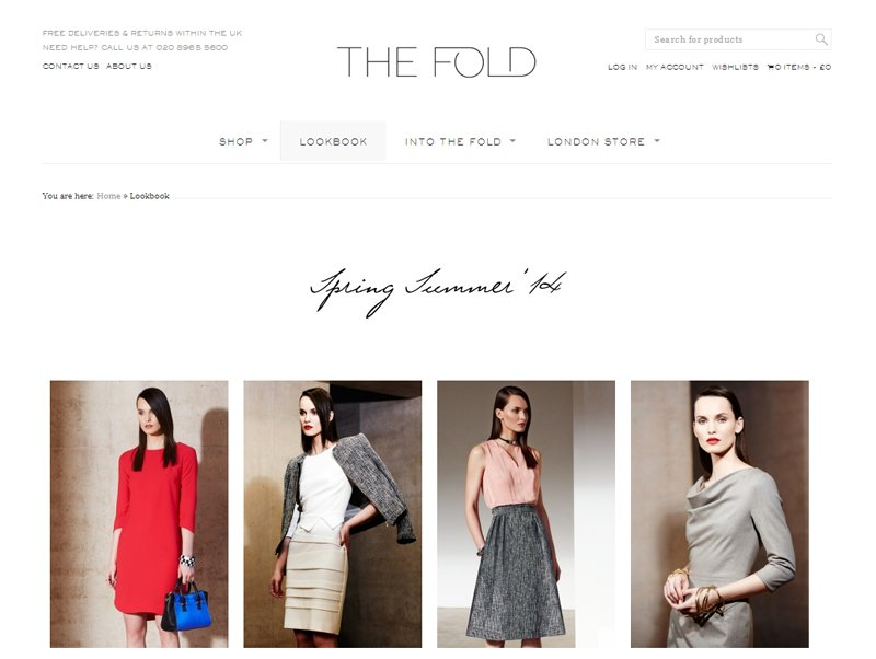 The Fold London Website