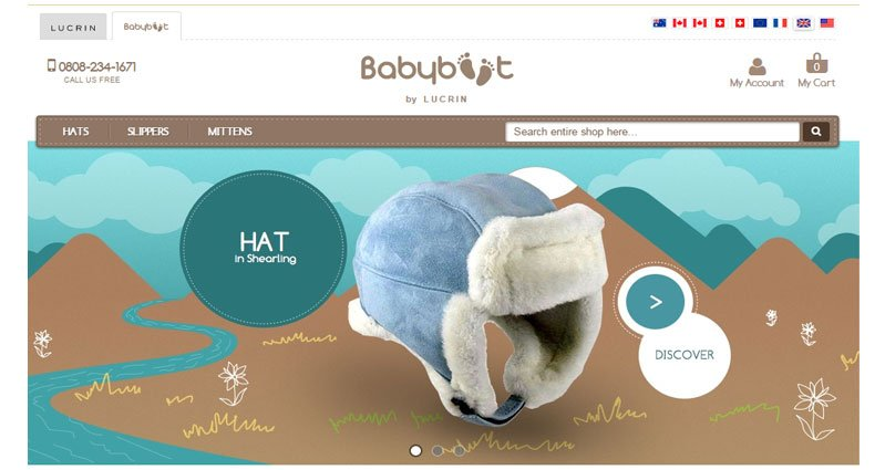 baby boots clothes magento