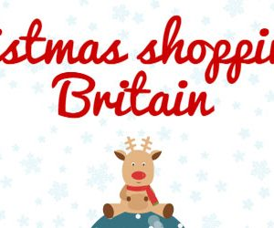 christmas shopping in britain