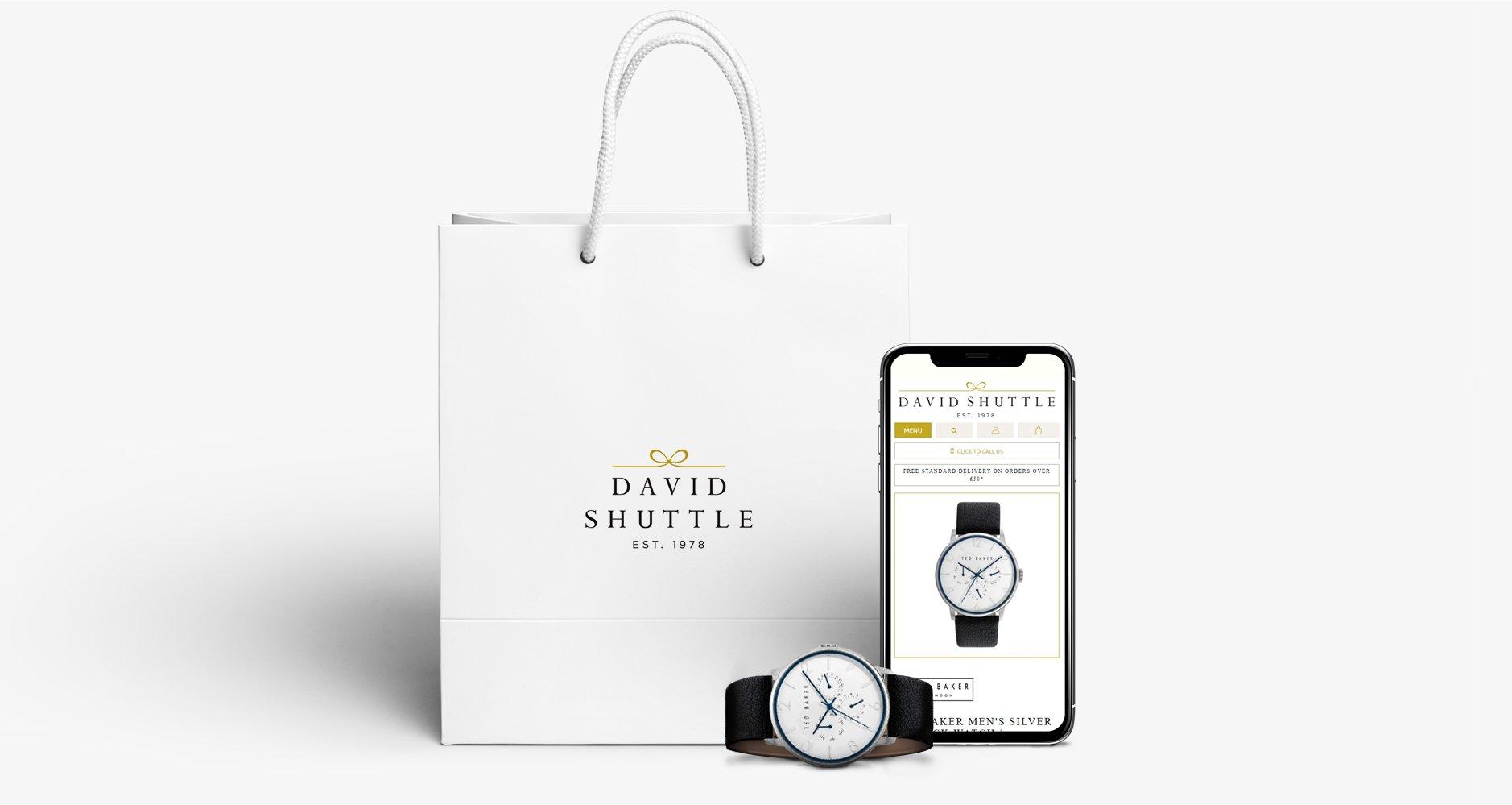 David Shuttle Website Mobile Responsive