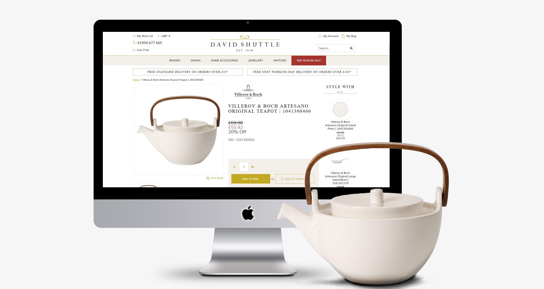 David Shuttle Website
