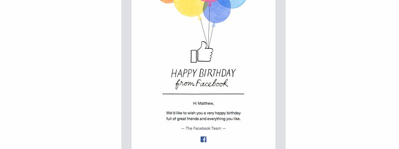 Even just wishing customers happy birthday can make them feel appreciated and keep them engaged with your brand.