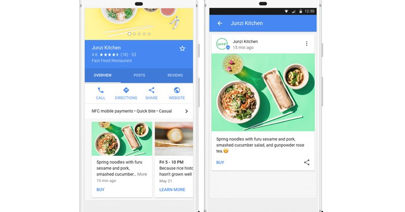 Google Posts will appear on the search results page on mobile as well as desktop.