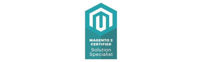 We are officially certified Magento 2 Solution Specialists