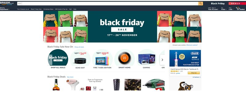 Amazon has already started their Black Friday 2017 sales a full week before the official day.