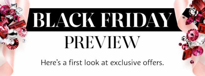 A sneak preview is almost a staple for Black Friday marketing now and gets your name out there in the run up to the big day.
