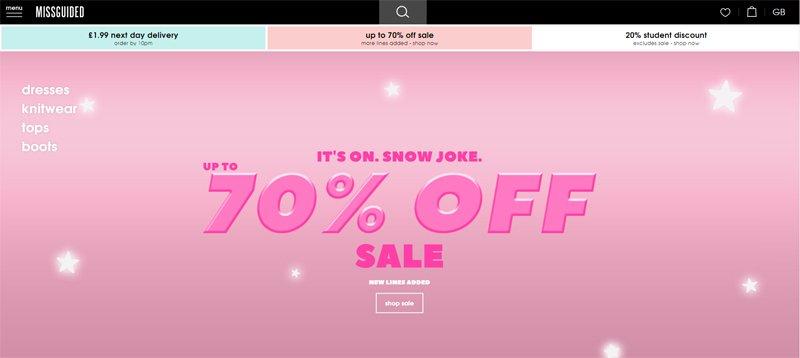 Magento Commerce Website