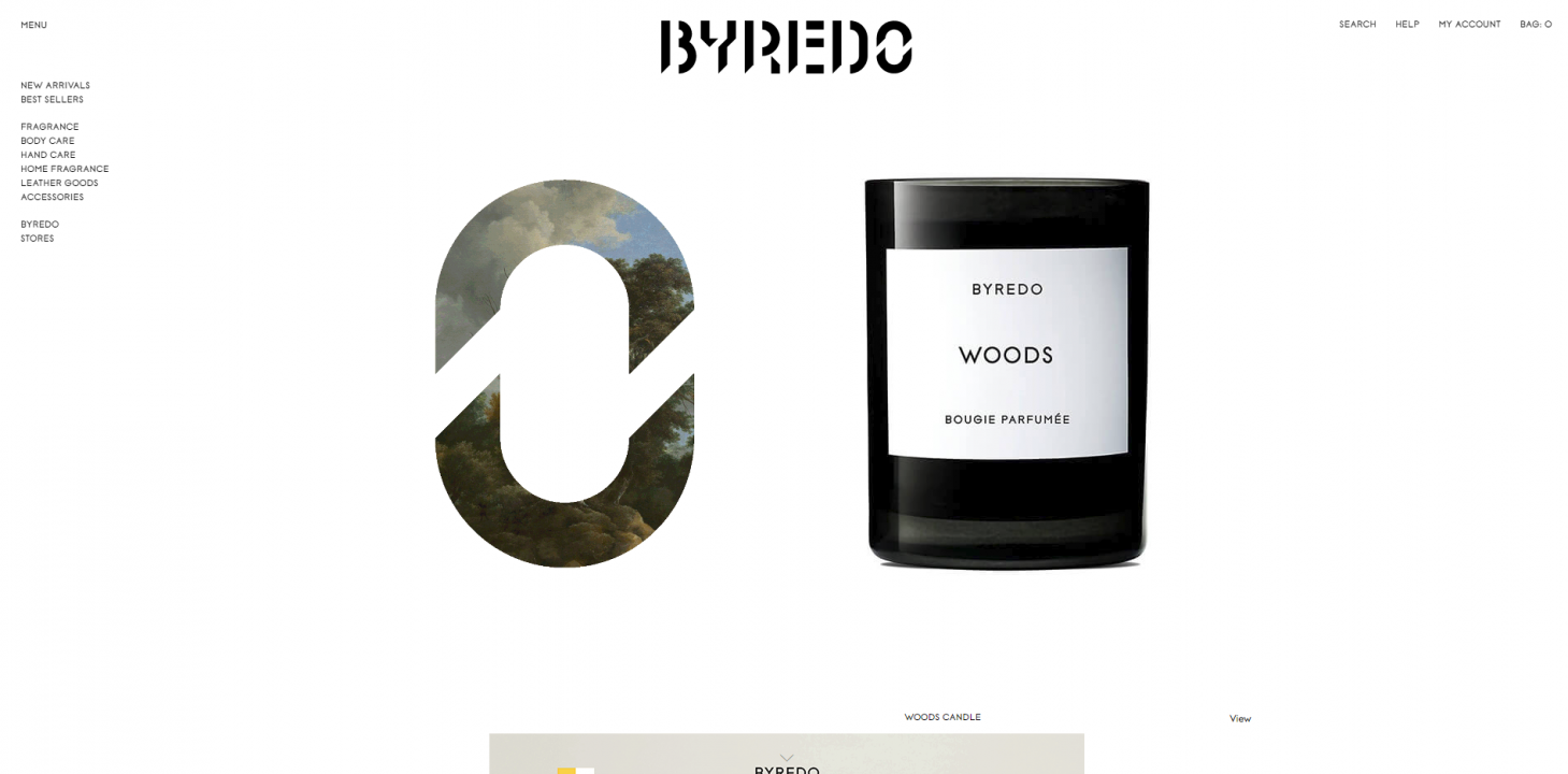 byredo website