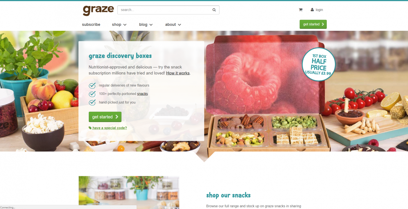graze website