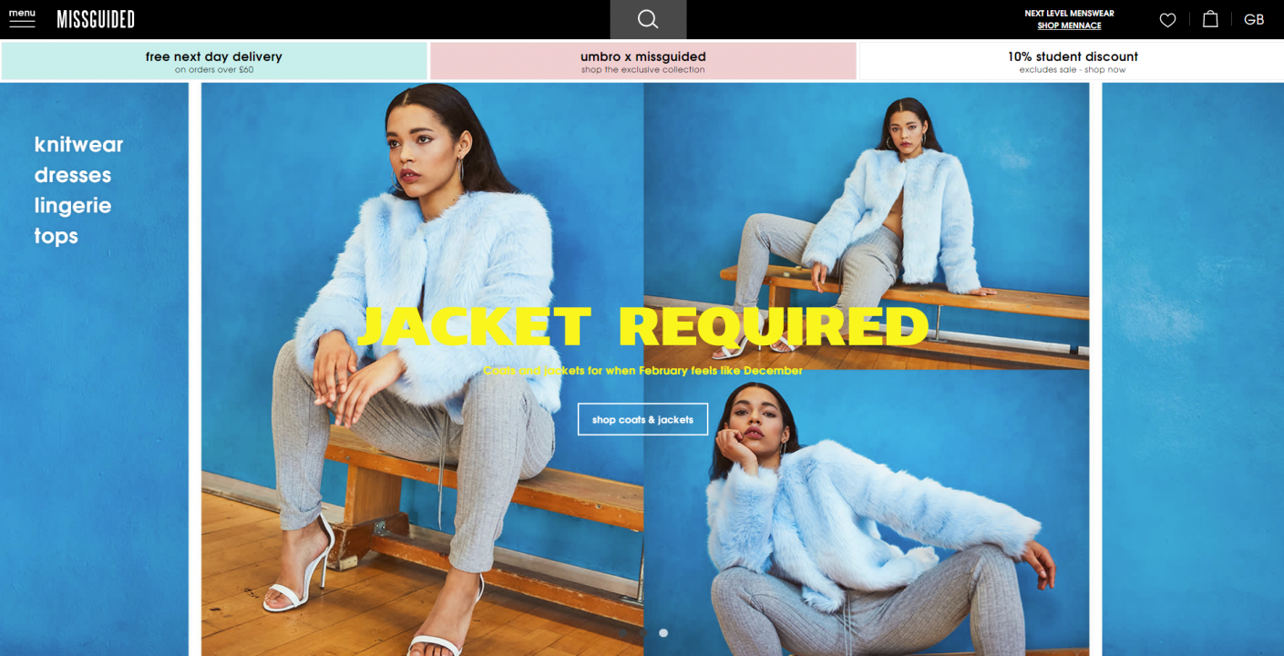 missguided website