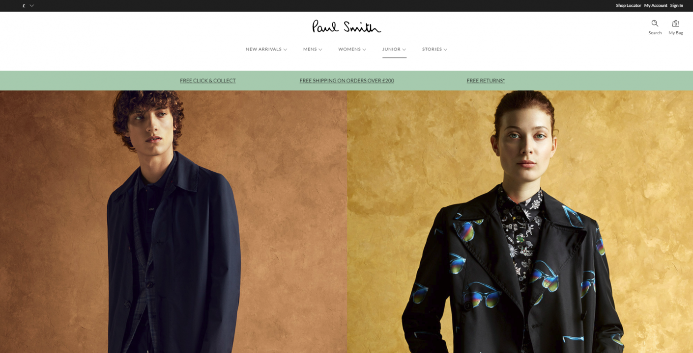 paul smith website