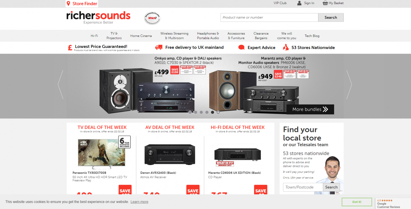 richer sounds website