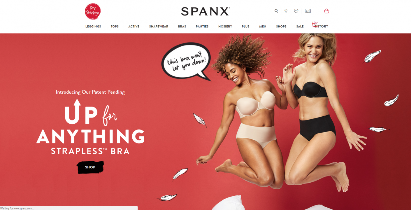 spanx website