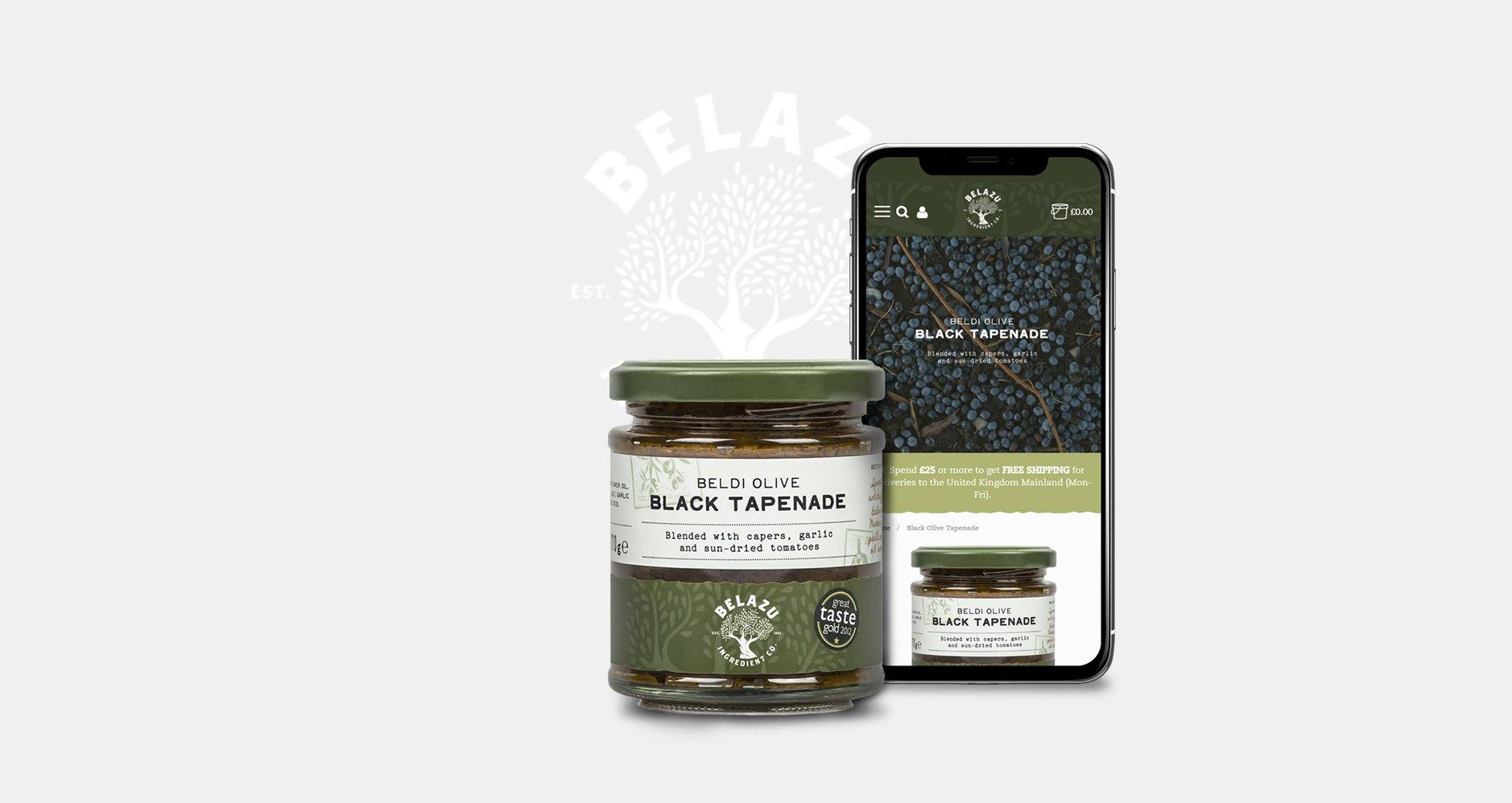 Belazu Responsive design and Jar