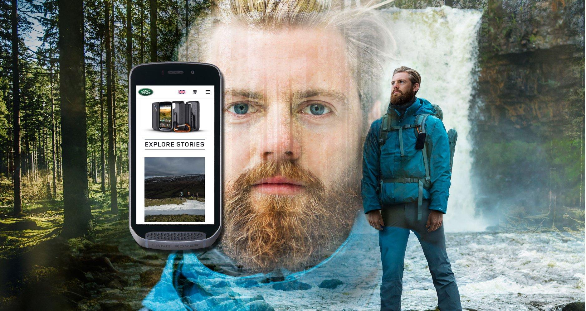 Landrover Explore Outdoor Phone