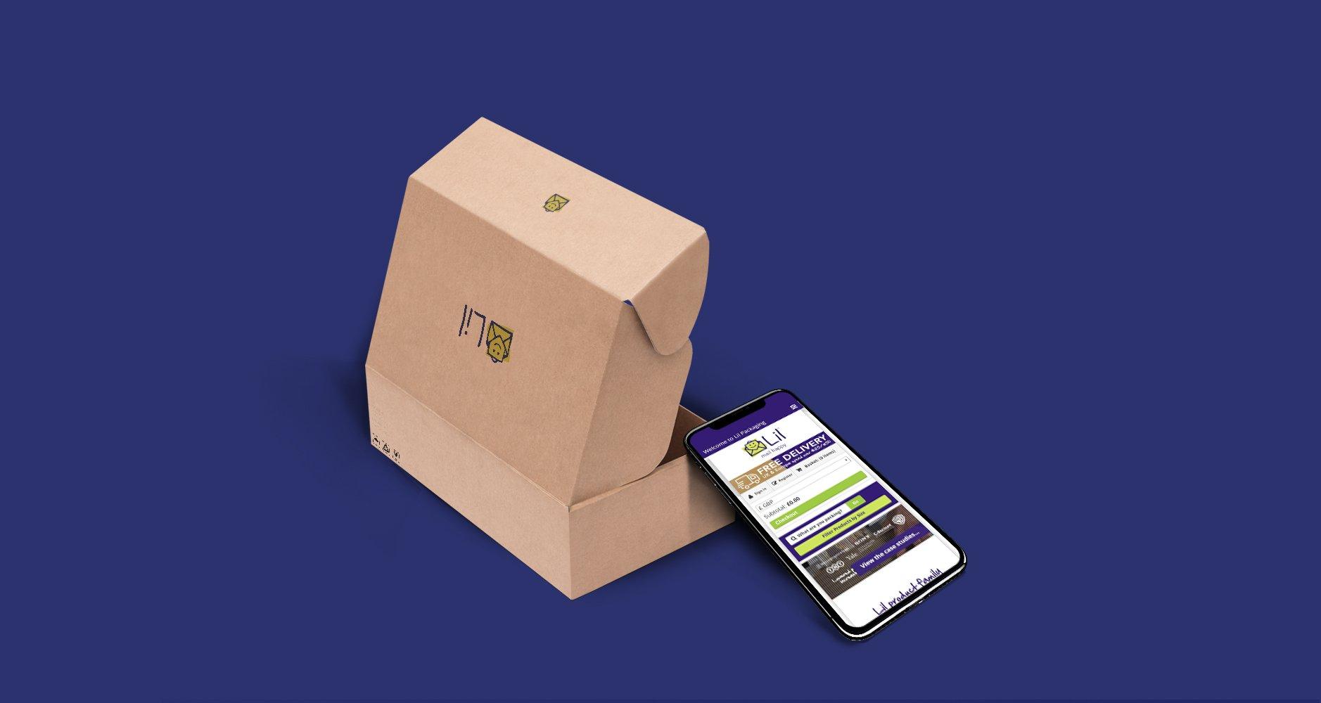 Lil Packaging Responsive website