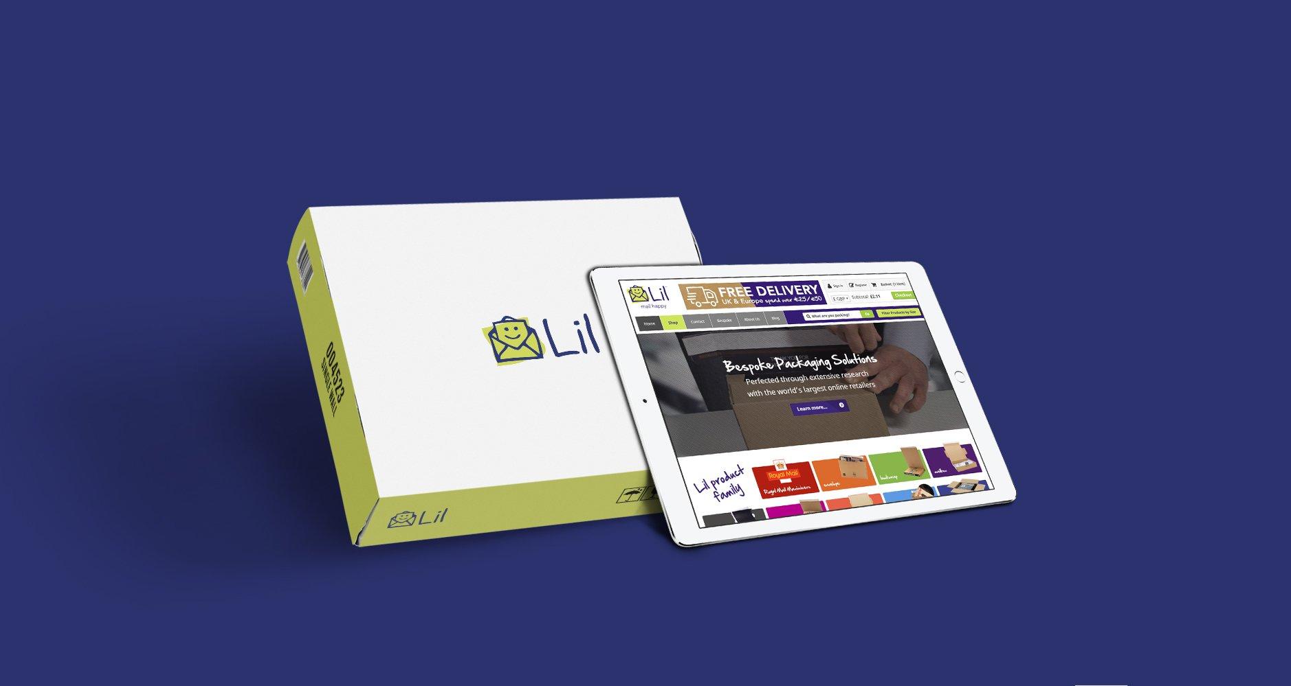 Lil Packaging Website